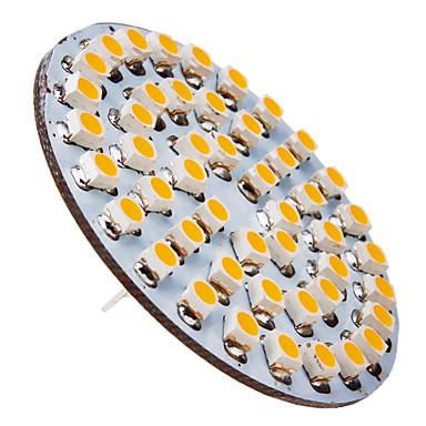 1 buc 2 W Spoturi LED 90-110 lm G4 48 LED-uri de margele SMD 3528 Alb Cald 12 V