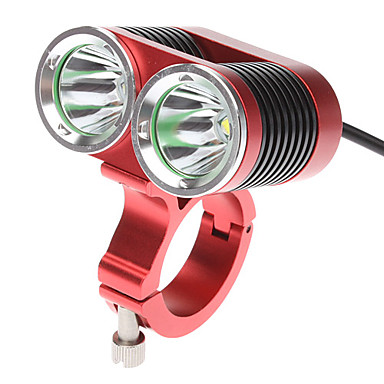 olcso Búvárlámpa-LED Kerékpár világítás Kerékpár világítás Kerékpár első lámpa Cree® XM-L T6 Kerékpár Kerékpározás Újratölthető 18650 2400 lm AkkumulátorBattery Kerékpározás / Alumínium ötvözet / IPX-4