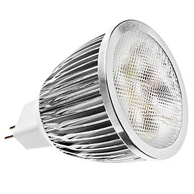 ZDM® 1 buc 4 W Spoturi LED 450 lm MR16 5 LED-uri de margele LED Putere Mare Intensitate Luminoasă Reglabilă Alb Rece 12 V