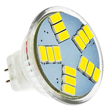 Spoturi LED 420 lm MR11 15 LED-uri de margele SMD 5630 Alb Rece 12 V / #