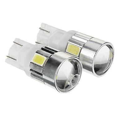 10pcs Conexiune prin cablu Mașină Becuri 1 W SMD 5730 100 lm 5 LED Luminile de margine laterale Pentru