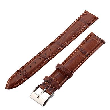levne Příslušenství k hodinkám-Řemínky k hodinkám Kožené Příslušenství k hodinkám 0.006 Vysoká kvalita