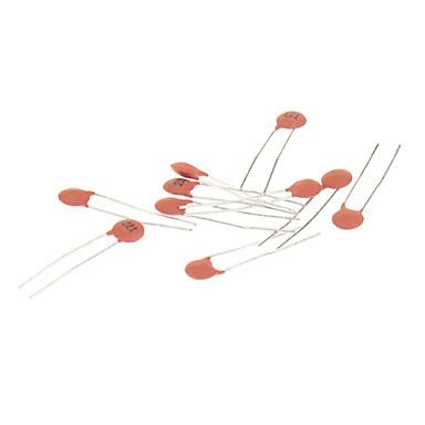 economico Condensatori-Condensatore ceramico per DIY circuito elettronico - Red (270 pezzi Pack)