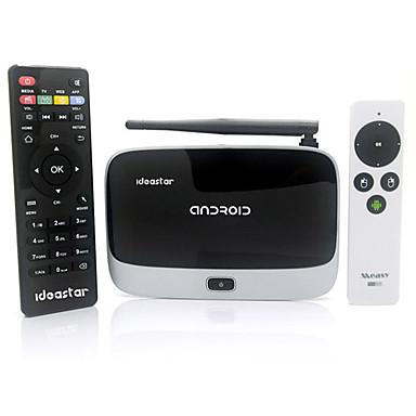 [$170 99] Ideastar BX09 Quad-Core Android 4 2 2 Mini PC Google TV Player  2GB RAM 8GB ROM RC9 Air Mouse