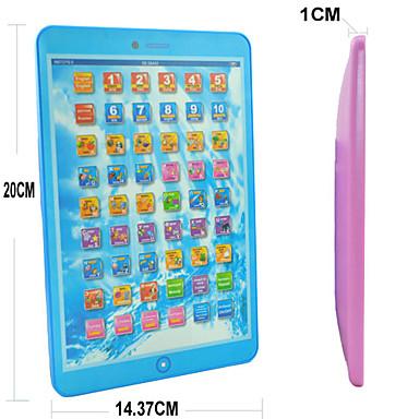 رخيصةأون اللوحي طفل-الإسبانية اللغة الإنجليزية تربية آلة التعلم ألعاب الكمبيوتر للأطفال (ألوان متنوعة)
