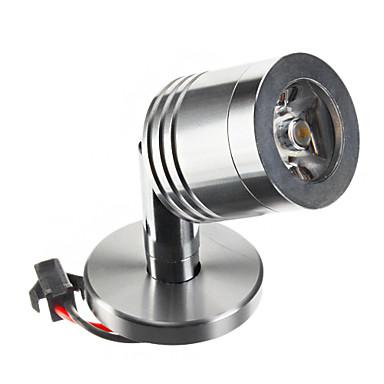 zdm 1pc 2 w 100-130 lm mini desktop reflector mic 1 led margele de mare putere a condus alb cald 85-265 v pentru cabinetul de noptieră de afișare cabinet rack.