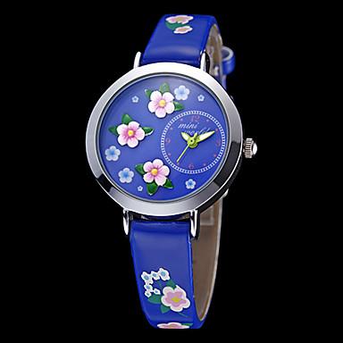 Pentru femei Quartz Japonez Albastru Floare