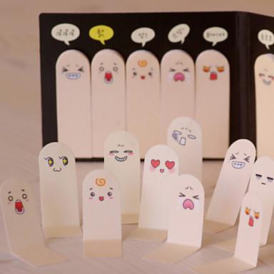 drăguț 200 de pagini zece degete autocolant marcaj note memorie lipicios note