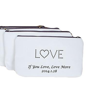 Personalizate cadouri Canvas dragoste model cremă Canvas Change portmoneu