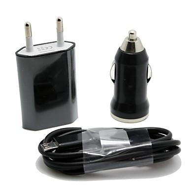 Încărcător de Mașină / Încărcător Casă / Încărcător Portabil Încărcător USB Priză EU 1 Port USB DC 12V-24V pentru