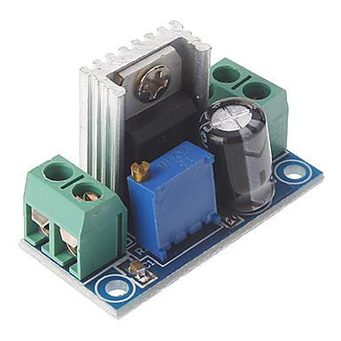 lm317 dc 40v 1.2 ~ 7v 전압 단계 회로 보드 가변 전압 조정기 전원 공급 장치