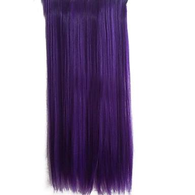 25 дюймовый ролик в синтетических фиолетовый Straight наращивание