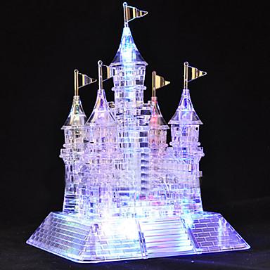 رخيصةأون 3D الألغاز-105 قطعة موسيقية مضيء كريستال 3D قلعة الألغاز
