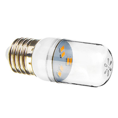 SENCART 1 buc 1 W Spoturi LED 70-90 lm E26 / E27 6 LED-uri de margele SMD 5730 Alb Cald 220-240 V