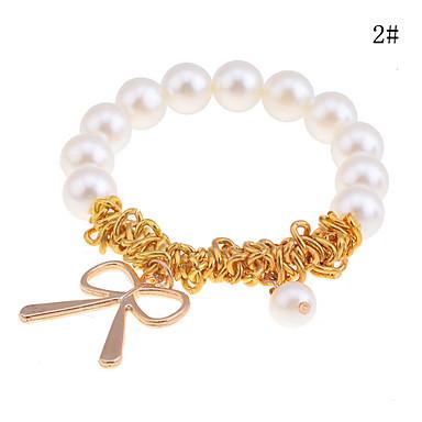 ieftine Brățări-Pentru femei Brățări cu Talismane Imitație de Perle Bijuterii brățară Auriu / Argintiu Pentru Cadouri de Crăciun Petrecere Zilnic Casual