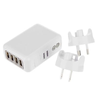 olcso Tápegységek & tápkábelek-usb utazási töltő 6 USB porttal iPhone Samsung mobiltelefon