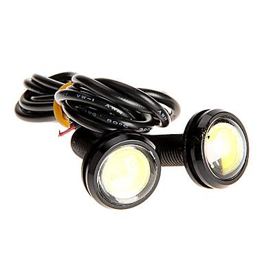 Pereche de 3W de mare putere cu LED-uri ultra-subțire LED Eagle Eye Backup Coada de lumină lampă spate de culoare 2786