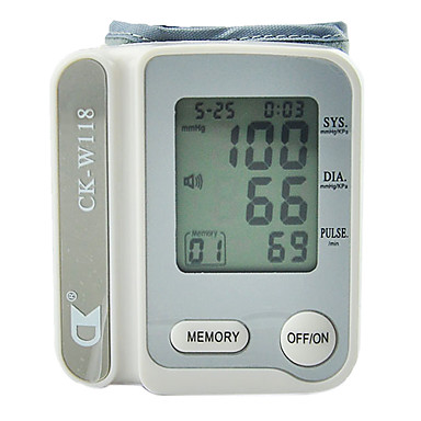 Nou încheietura Digital Monitor complet automata a tensiunii arteriale, Sphygmomanometer