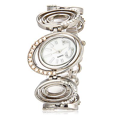 Pentru femei Ceasuri de lux Ceas de Mână Argint Analog femei Charm