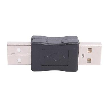 olcso Kábelek & adapterek-USB Férfi USB Male csatlakozó