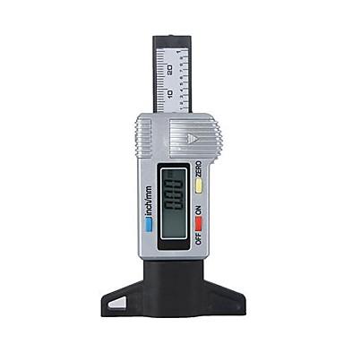 Digital LCD anvelope anvelope suprafață de rulare ecartament Depth 0-25.4mm
