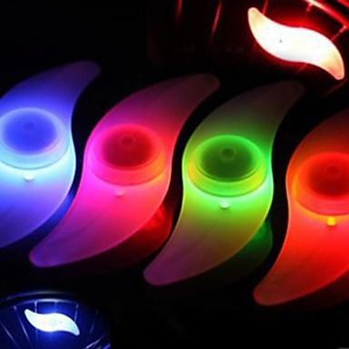 LED Lumini de Bicicletă lumini intermitente capac robinet lumini roți Biciclete spoke luminile Bicicletă Ciclism Rezistent la apă Multicolor Ciclism / IPX-4