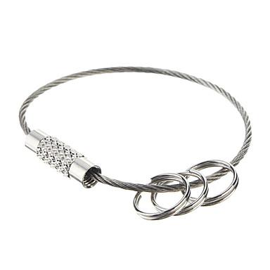 olcso Kulcstartók-EDC Steel Ring Outdoor Keychian