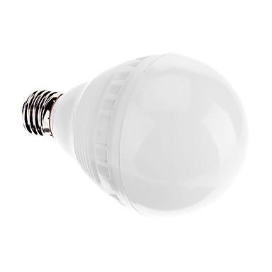 1 buc 7 W Bulb LED Glob 600-650 lm E26 / E27 G80 27 LED-uri de margele SMD 2835 Decorativ Alb 220-240 V / RoHs