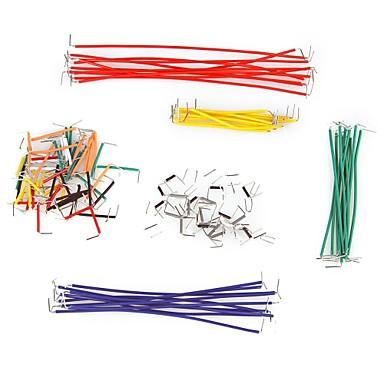 140 Cabluri Jumper piese cu diferite culori
