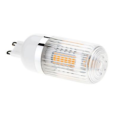 Becuri LED Corn 680-760 lm G9 T 27 LED-uri de margele SMD 5630 Alb Cald 85-265 V
