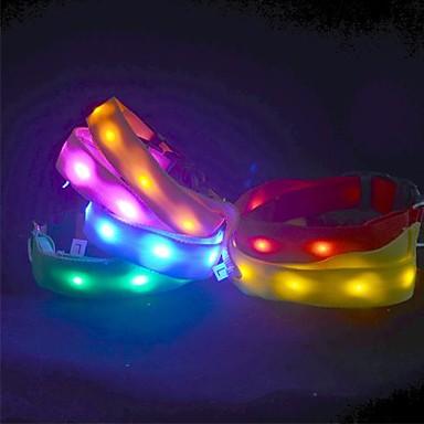 leuke kleurrijke nylon led verlichting halsbanden voor de hond honden verschillende kleuren 1245467 2019 851