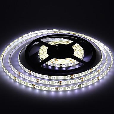 Jiawen fiexble led light band 5m 3528smd 8mm 30leds / m rgb impermeabil acvatic decorare dc 12v