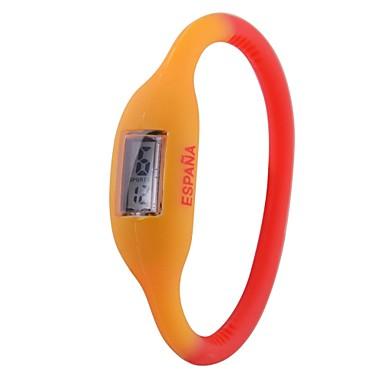 92944511cd6c Unisex España Bandera Diseño Digital de silicona reloj pulsera de la Copa  de Fútbol de regalos 1323039 2019 – €5.99