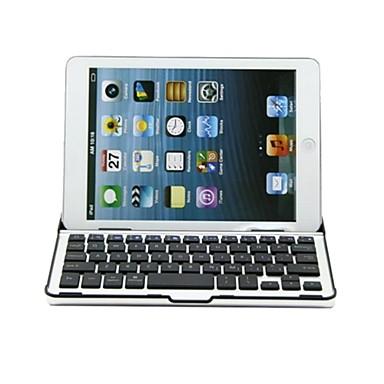 carcasă din aluminiu w / tastatură Bluetooth pentru iPad mini 3 ipad mini 2 ipad mini