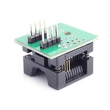 Mare SOP8 la DIP8 programator Modulul adaptor Socket