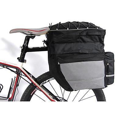 رخيصةأون حقائب الدراجة-FJQXZ 64 L حقيبة جذع الدراجة 3 في 1 سعة كبيرة مقاوم للماء حقيبة الدراجة 600D نايلون حقيبة الدراجة حقيبة الدراجة دراجة الطريق دراجة جبلية أخضر / الدراجة / شرائط عاكسة