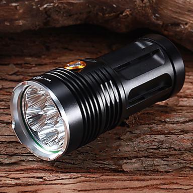 Felinare & lumini pentru cort LED Cree® XM-L T6 7 emițători 6300 lm 3 Mod Zbor Rezistent la apă Reîncărcabil Multifuncțional