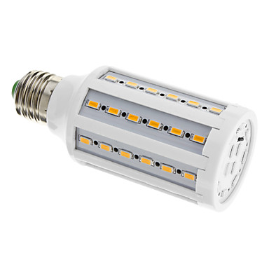 Becuri LED Corn 960 lm E26 / E27 T 60 LED-uri de margele SMD 5630 Alb Cald 220-240 V