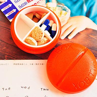 Недорогие Все для здоровья и личного пользования-портативный милые и индивидуальных программ лечения случай (случайный цвет)