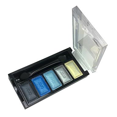 5 culori Fard de Pleope / Pudre Ochi Mat / Sclipici / Luciu Strălucire / fumuriu Cosmetic