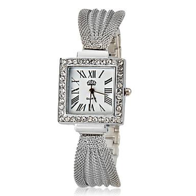 Pentru femei Diamond Watch Piața de ceas Quartz Argint / Auriu / Roz auriu Auriu Argintiu Roz auriu