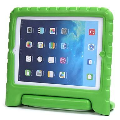 olcso iPad tokok-Case Kompatibilitás Apple iPad 4/3/2 Ütésálló / Állvánnyal / Gyermekbiztos Fekete tok Egyszínű EVA