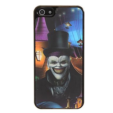 f0175366b73 Hombre del cráneo del payaso 3D Cambio de patrón protector de la cubierta  de plástico duro de nuevo caso para el iphone 5/5S 1377199 2019 – €3.99