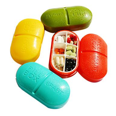Недорогие Все для здоровья и личного пользования-портативный индивидуализированы и прекрасный случай таблетки (случайный цвет)