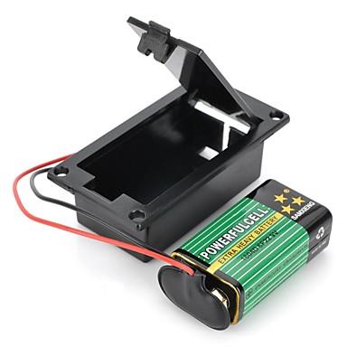 DIY baterie 9V T-Type Buckle Case Set