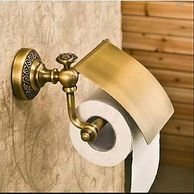 Suporturi De Hârtie Igienică Antichizat Alamă 1 piesă - Hotel baie