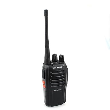 Baofeng BF-666S 5W-16 canale 400-470MHz Handheld Walkie Talkie / Interphone - Black