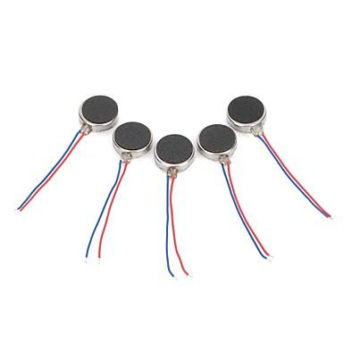 povoljno Motori i dijelovi-DIY 1027 Stan vibracijom vibracije motora - Silver (5 komada)