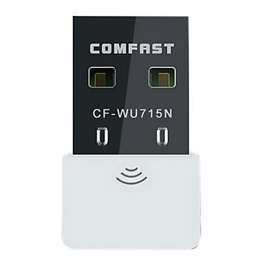 COMFAST® CF-WU715N Mini USB 2.0 IEEE802.11 b/g/n 150Mbps 2dBi Wi-Fi Network Adapter (White)