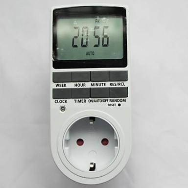 Timer Plug in Programozható időzítő kapcsoló 24 7 Nap Hét digitális LCD  kijelző az EU 1415588 2019 – €21.19 5006b73d22